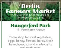 Berlin Farmers Market Print Ad