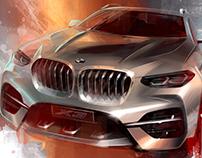 BMW X3 2018 - Design [video]