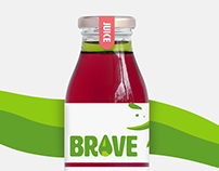 BRAVE - Brandbook for olive oil charged juices