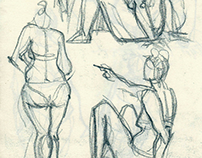 Sketches from coast