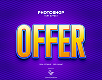 Free Offer Photoshop Text Effect