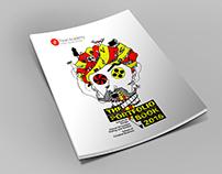 Pearl Academy Portfolio book 2016 Cover Design