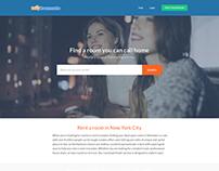 Easyroommate.com new homepage