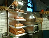 grill & bread shop - realisation