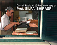 Dinsai : 125th Anniversary of Prof.Silpa Bhirasri