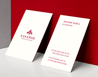 Branding for the Lisange atelier & showroom