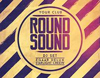 Round Sound Flyer/Poster
