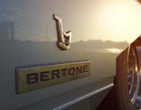 Bertone Ferrari Rainbow - Chrome study