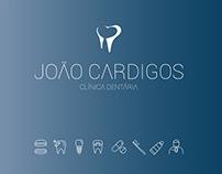 BRANDING FOR: JOÃO CARDIGOS - CLÍNICA DENTÁRIA