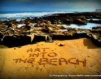 Art into the beach