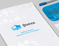 Quess: Branding & Collateral