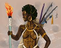Afrikanzis (Concept character design)