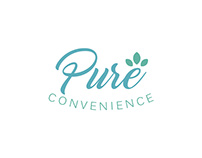 Pure Convenience Logo Design
