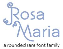 Rosa Maria Typeface