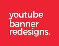 Youtube Banner Redesign