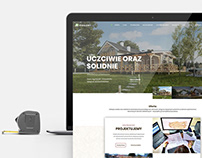 Daszer wooden houses - Web Design & Branding