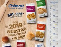 Calendario Colmaíz 2019