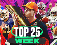 Saturday Down South: Top 25 Week Series Cards