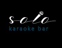 """""""Solo"""" karaoke bar logo"""
