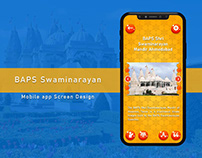 Mobile app Screen Design