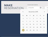 Hotel Reservation UI Design