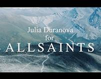 Julia Duranova for AllSaints