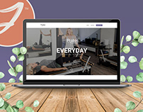 Pilates Custom Website Design