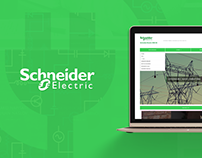 Schneider Electric DMS NS web design