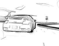 Porsche Motorsport - Copic Style Image Film