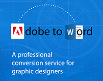 Form Adobe InDesign to Word, easy and professional