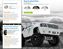 Light Truck landing pg Concept TireBuyer