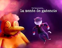 Cortometraje animado: La mente de Gatencio