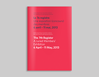 The 7th Register Exhibition Book