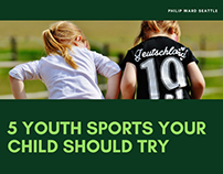 5 Youth Sports Your Child Should Try