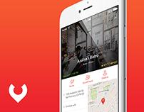 Yummzy - Mobile App Concept (UX, UI, IxD)