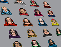 Every Royal Rumble winner infographic