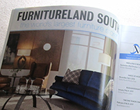 Print advertising for Furnitureland South