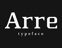 ARRE Typeface