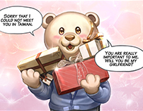 Toby and Belle webcomics 2018