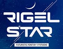 Free Font - Rigel Star Futuristic
