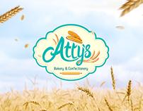 Atty's Bakery | Logo Design
