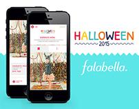 FALABELLA - SITE HALLOWEEN