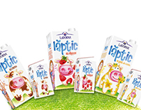 LaDorna, children milk packaging