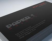 PAPERWORKS Visual Identity