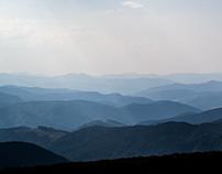 Carpathian mountains art