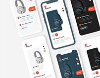 App Design Product UI