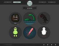 Mysterious Creatures Website