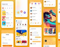 Soical App - UI Design