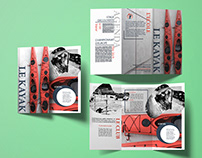 Projet print : Flyers 3 volets
