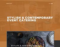 Catering UI/UX Design